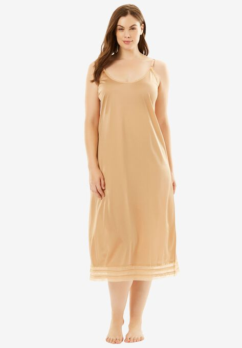 Snip To Fit Dress Slip By Comfort Choice Plus Size Slips