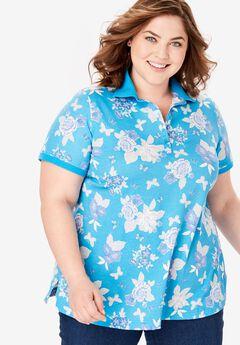 Perfect Printed Polo Shirt,