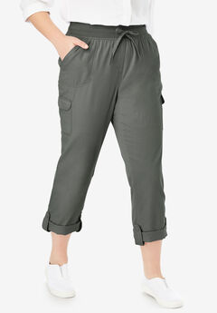 Convertible Length Cargo Pant, OLIVE GREY