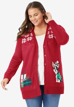 Holiday Cardigan,