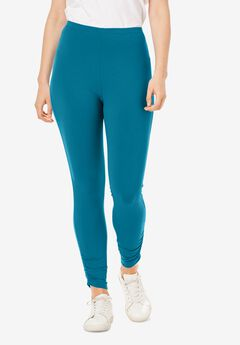 Cinched Hem Leggings,