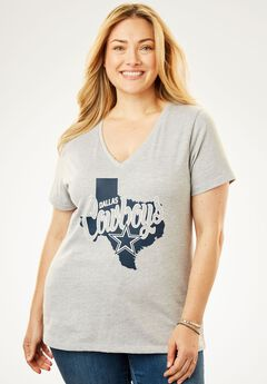 Dallas Cowboys V-Neck Tee,