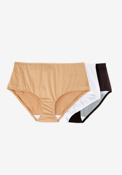 3-Pack Smoothing Full-Cut Brief by Comfort Choice®, BASIC PACK, hi-res