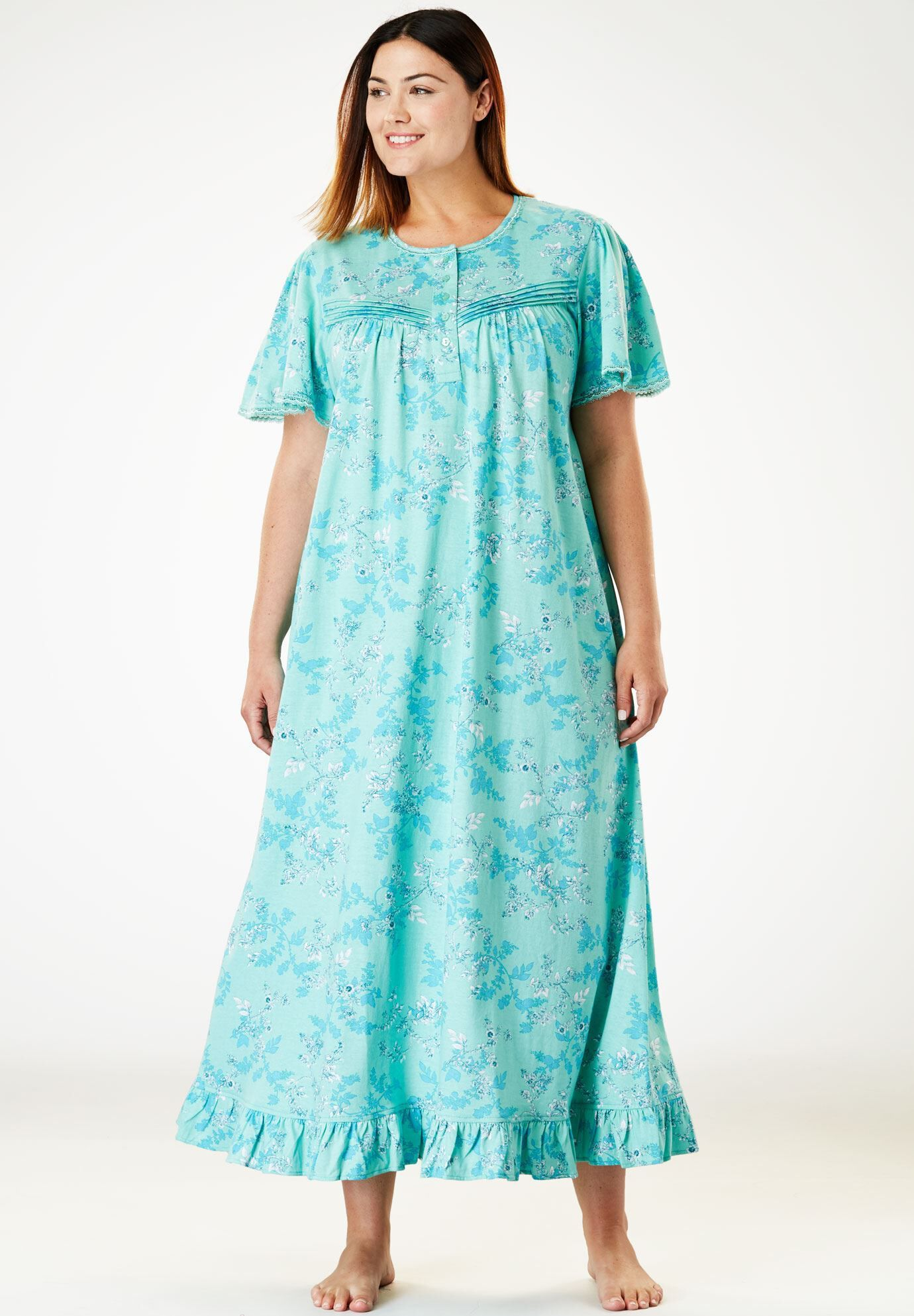 Plus Size Long Nightgowns