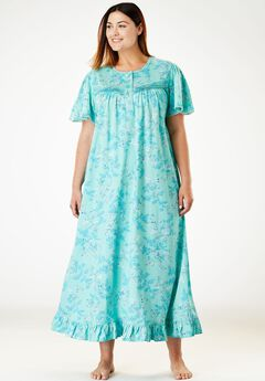 Long Cotton Gown by Dreams & Co®,