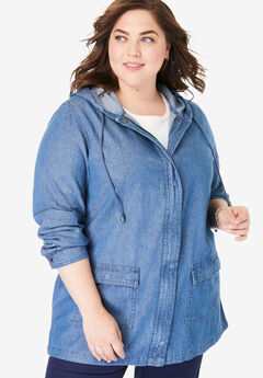 5f38a9a29b2 Plus Size Coats   Winter Jackets for Women