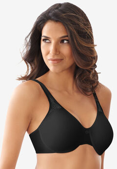 Bali® Best Seller Passion for Comfort Seamless Minimizer     Underwire Bra, BLACK, hi-res