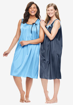 2-Pack Sleeveless Nightgown by Only Necessities®,