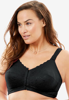Posture Support Soft Cup Allover Lace Bra by Comfort Choice®,