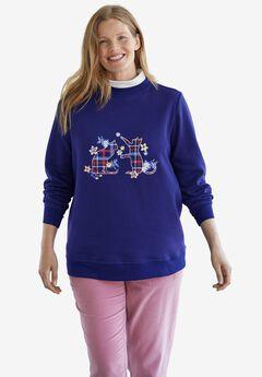 Layer-Look Sweatshirt,