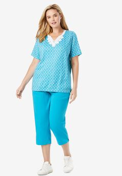 2-Piece Tunic and Capri Set,