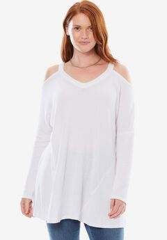 Thermal Cold-Shoulder Tunic,