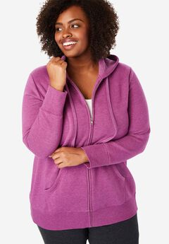 Hooded Better Fleece sweatshirt jacket,
