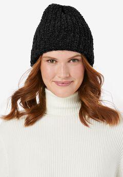 Chenille Winter Hat,