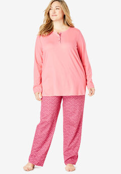 Henley PJ Set by Only Necessities®,