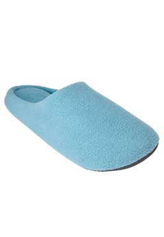 Clog Slipper with Cushioned Insoles by Dreams & Co.®, FOUNTAIN BLUE, hi-res