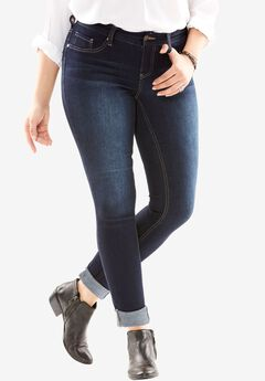 Curvy Jegging, DARK, hi-res