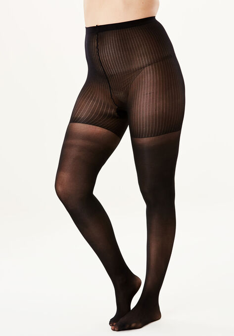 99df8036c4b35 2-Pack Support Tights by Comfort Choice®| Plus Size Hosiery & Socks ...