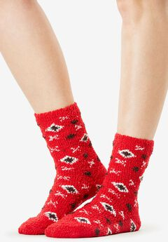2-Pack Slipper Socks,