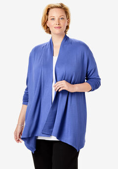 Everywear Essential Open Front Cardigan,