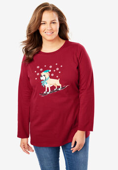 Holiday Graphic Tee,