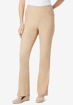 Pull-On Bootcut Jean, NEW KHAKI