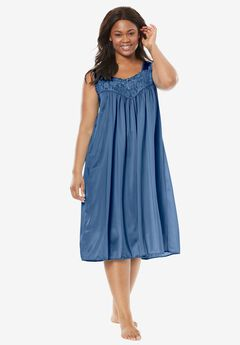 Tricot waltz-length nightgown by Only Necessities®,