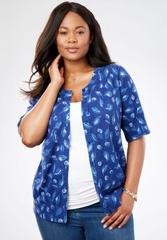 Elbow-Length Sleeve Perfect Cardigan,