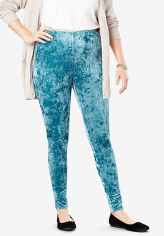 Crushed Velour Leggings,