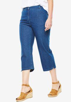 Cotton Capri Jean,