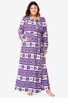 Microfleece Wrap Robe by Dreams & Co.®,