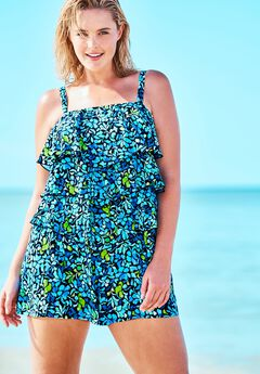 Bandeau Swim Romper by Fit 4 U®,