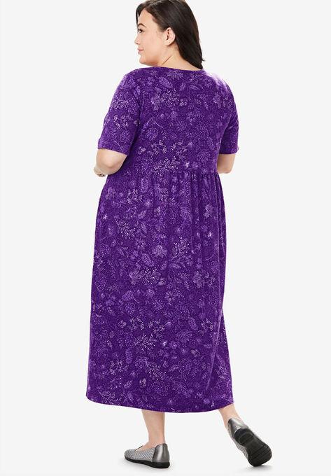 d58bafc61c3 Button-Front Essential Dress