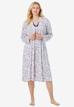 Knit Gown and Robe Set by Dreams & Co®,