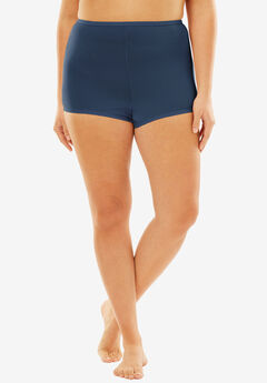 Stretch Microfiber Boyshort By Comfort Choice®, NAVY