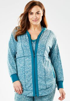 Zip-Front Sleep Hoodie by Dreams & Co.,