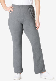 Cozy Knit Flared Pant,