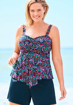 Flared Tankini Top ,