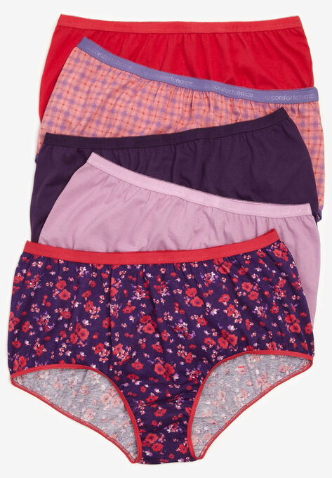 af2ac04bdb76 10-Pack Pure Cotton Full-Cut Brief by Comfort Choice®| Plus Size ...