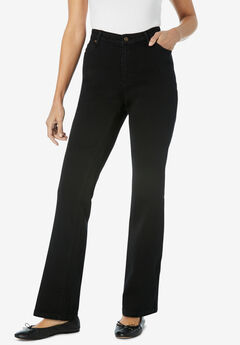 Perfect Bootcut Jean, BLACK DENIM