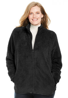 Fluffy Fleece Jacket,