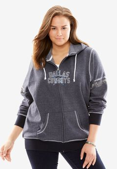 Zip-up NFL Sweatshirt,
