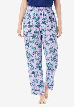 Cotton Poplin PJ Pant by Dreams & Co.®,