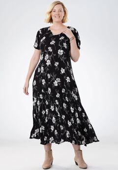 Crinkle Dress,