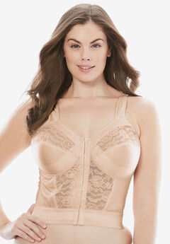 Easy Enhancer® Longline Posture Bra by Comfort Choice®,