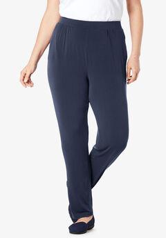 Best Dressed® Essential Slim Leg Pant,