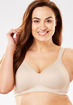 Playtex® 18 Hour Side & Back Smoothing with Cool Comfort™ Wirefree Bra #4049,