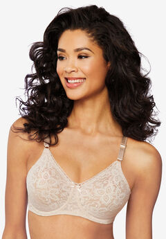 Bra with underwire and stretch lace by Bali®,