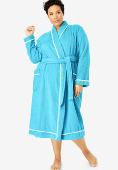 acc1c5d5f4 Spa Terry Short Wrap Robe by Dreams   Co.®