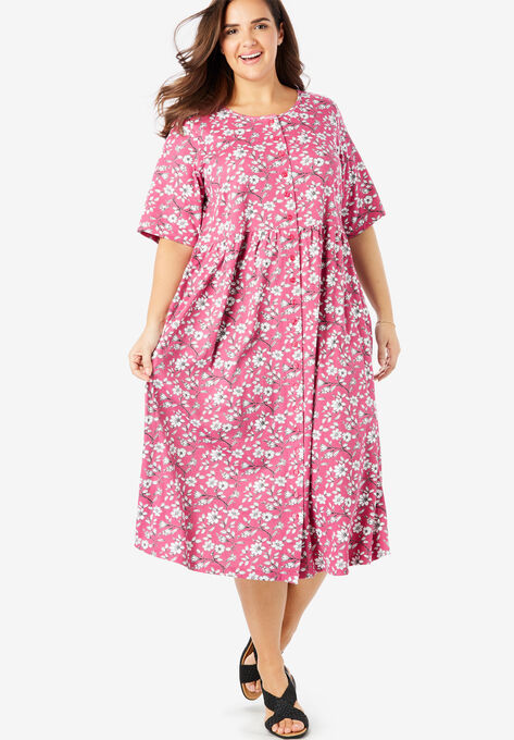 9ac4d7fe8bf Button-Front Essential Dress